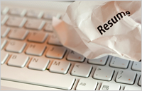Woman Checking References